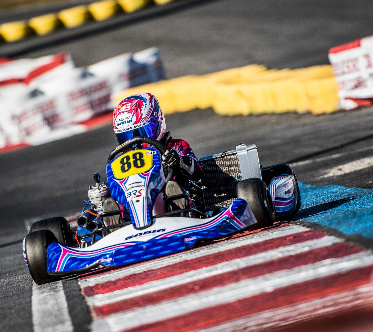 Photo of Kart – Campeão Brasileiro, Rafael Câmara larga na segunda fila no Europeu de Kart na França