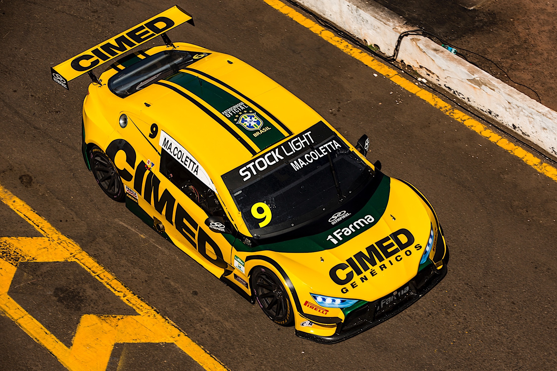 Photo of Stock Light – Marcel Coletta domina treinos livres em Campo Grande com a Cimed Racing