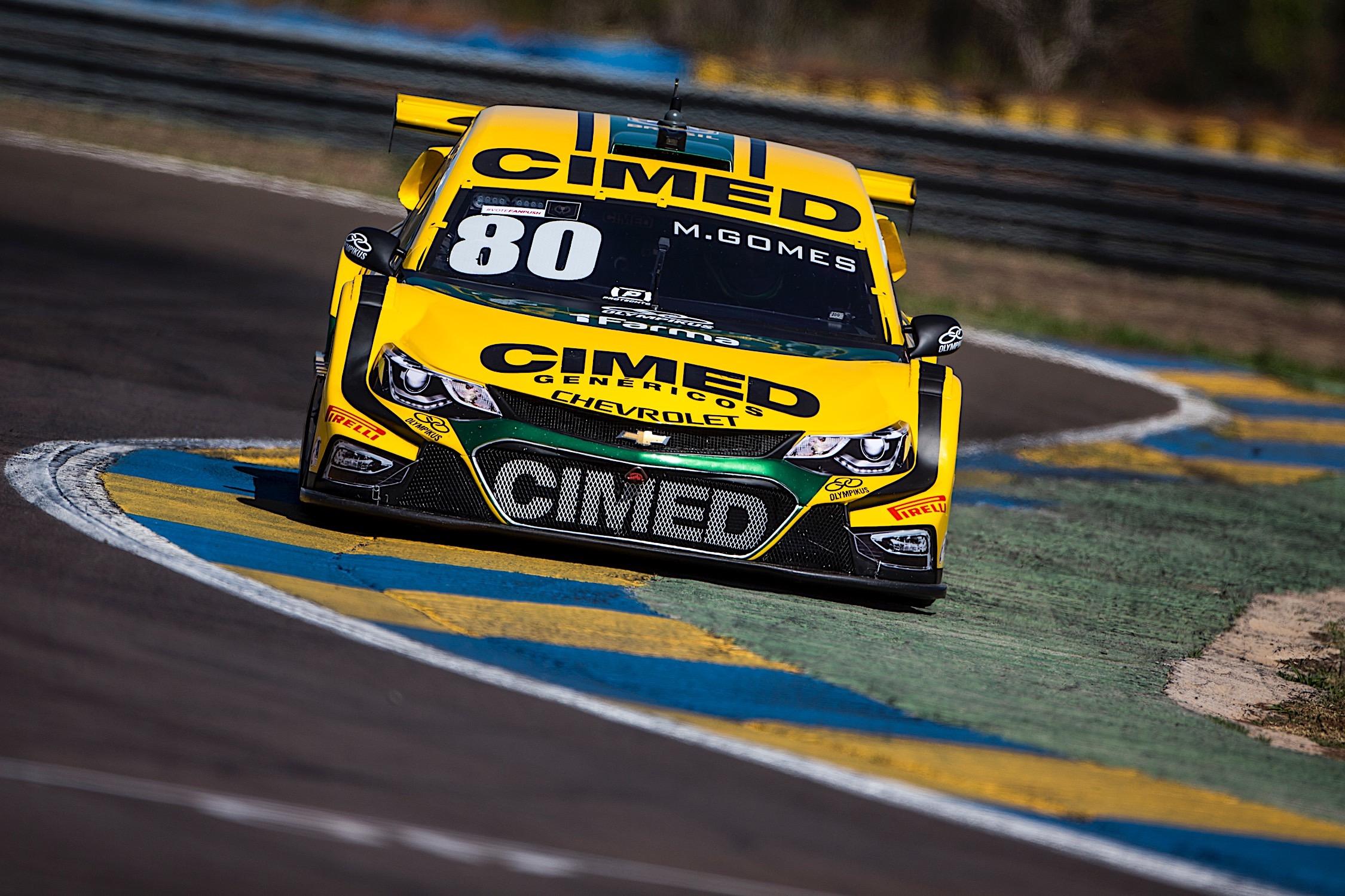 Photo of Stock Car – Marcos Gomes é o mais rápido do treino 2 desta sexta-feira em Campo Grande com a Cimed Racing