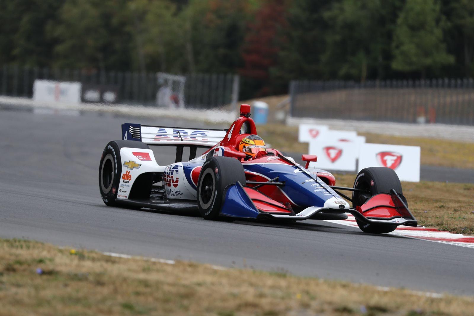 Photo of Indy Car – Leist faz ótima prova em Portland, anda no top-5, mas bandeira amarela arruína estratégia da Foyt