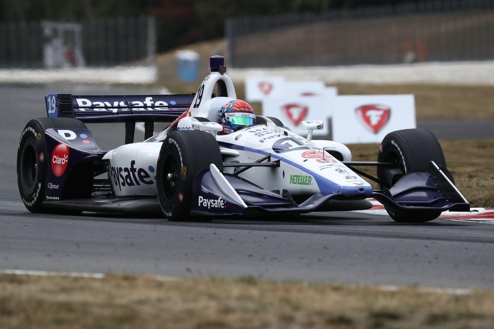 Photo of Indy Car – Pietro Fittipaldi é destaque em Portland, sendo melhor estreante e conquistando top-10 na Indy