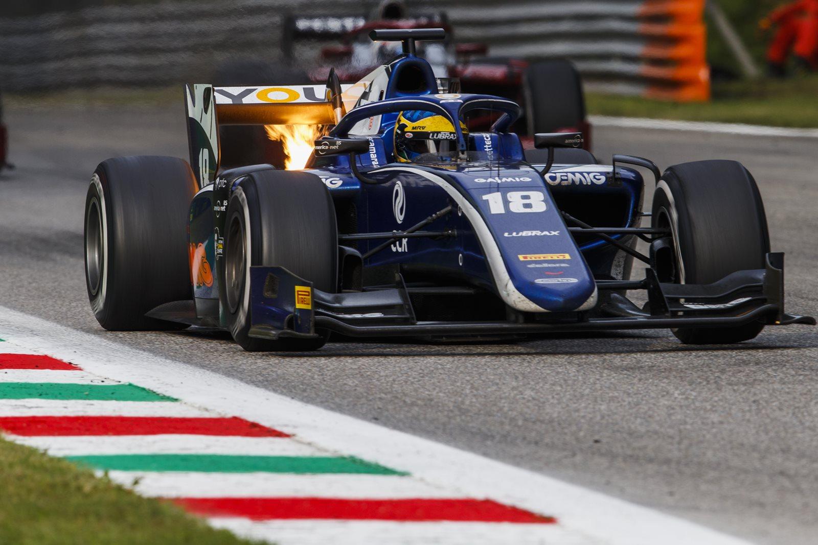 Photo of F2 – Em Monza, Sérgio Sette fez mais um pódio no Mundial