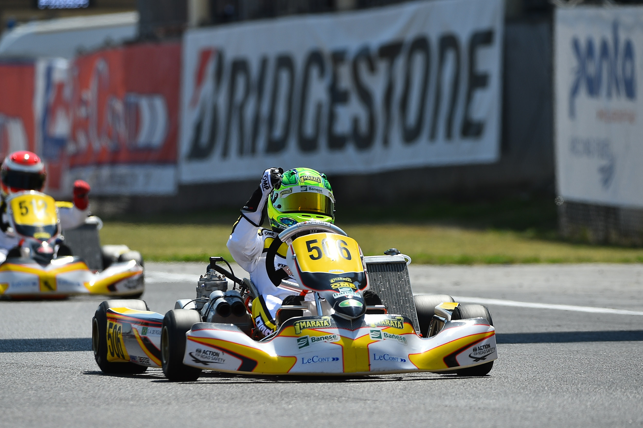 Photo of Kart – Após pódio, Gui Figueiredo chega confiante para decisão do Troféu Academy da FIA na Bélgica