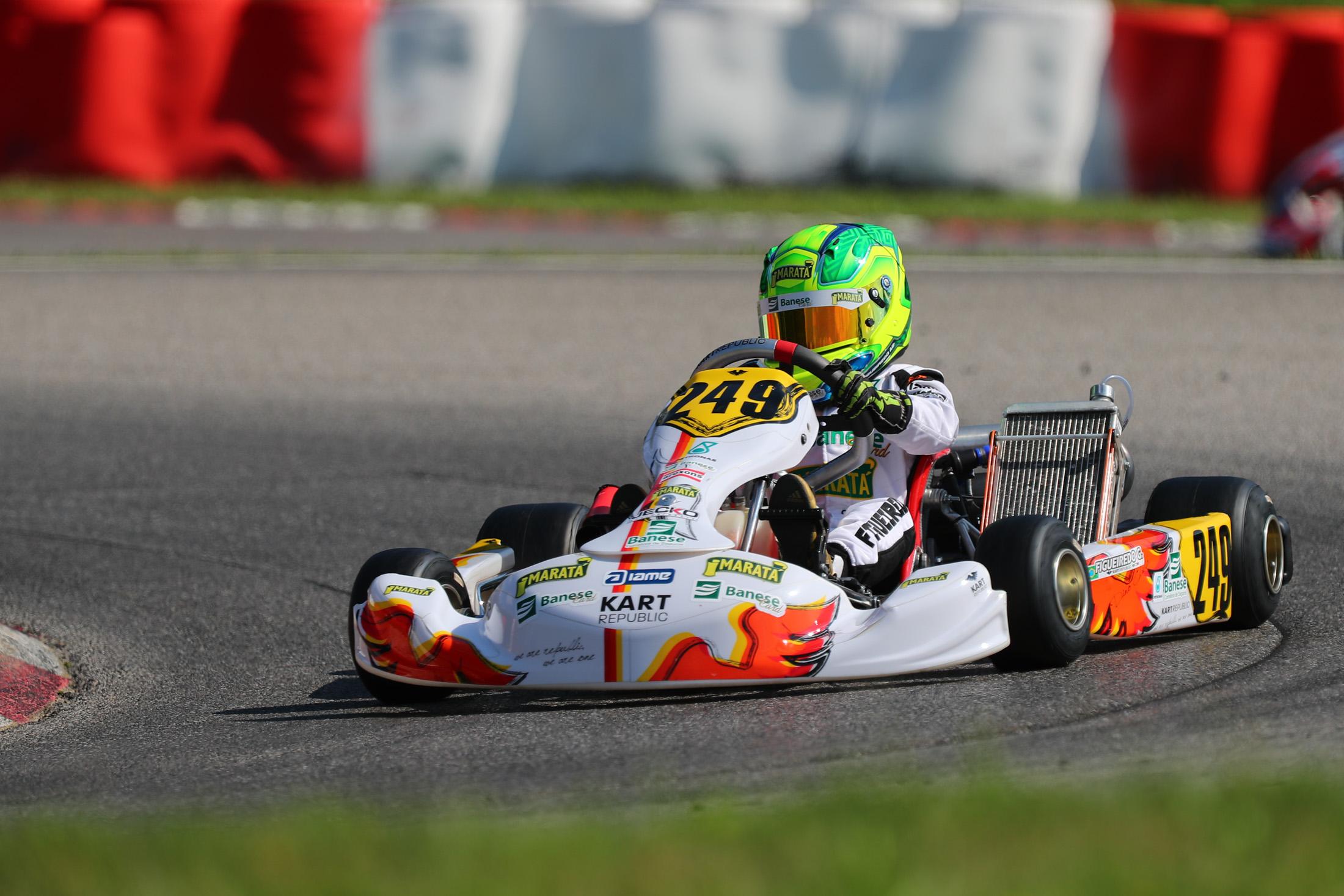 Photo of Kart – Top-3 no Troféu Academy, Guilherme Figueiredo disputa Campeonato Mundial de Kart na Suécia