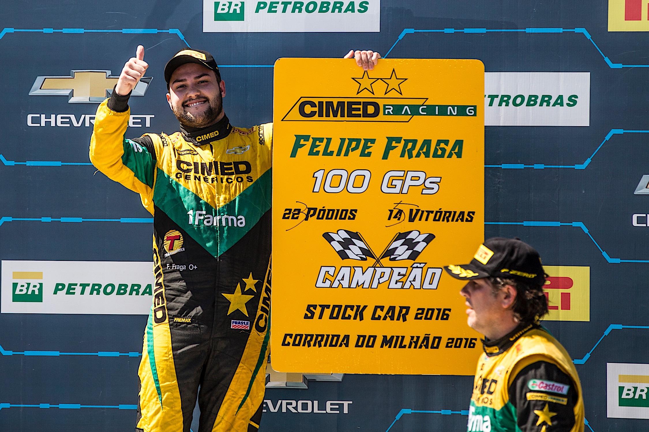 Photo of Stock Car – Vitória de Felipe Fraga na corrida principal e pódio duplo de Serra acirra disputa pelo título