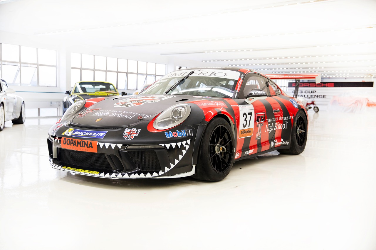 Photo of Porsche Cup – Guilherme Reischl irá representar a Texas Tech University na disputa da Porsche GT3 Cup Brasil