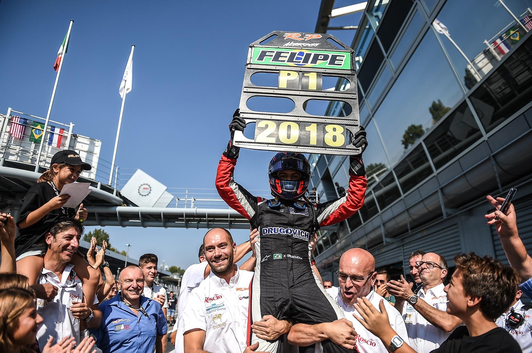 Photo of F3 –   Felipe Drugovich é campeão antecipado na Europa