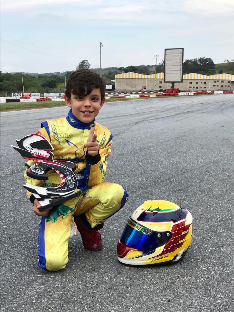 Photo of Kart – Vice-campeão do Open em Vespasiano, Augustus Toniolo estreia na Copa Brasil de Kart