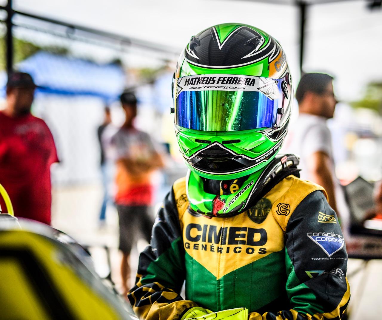 Photo of Kart – Jovem revelação do kart, Matheus Ferreira conquista pódio na Copa Brasil