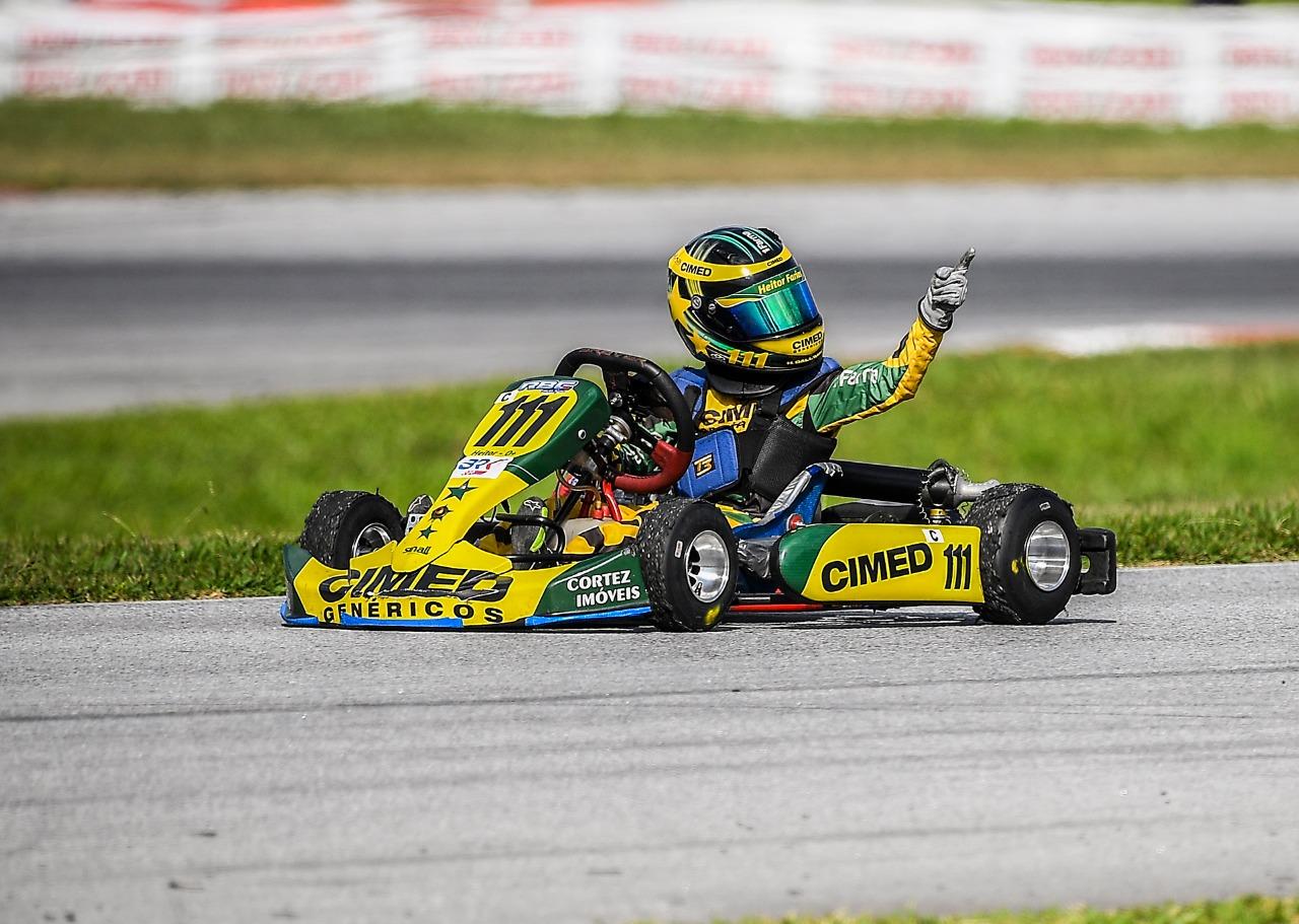 Photo of Kart – Heitor Farias conquista mais um título para o time Cimed Racing e o seu bicampeão da Copa Brasil de Kart