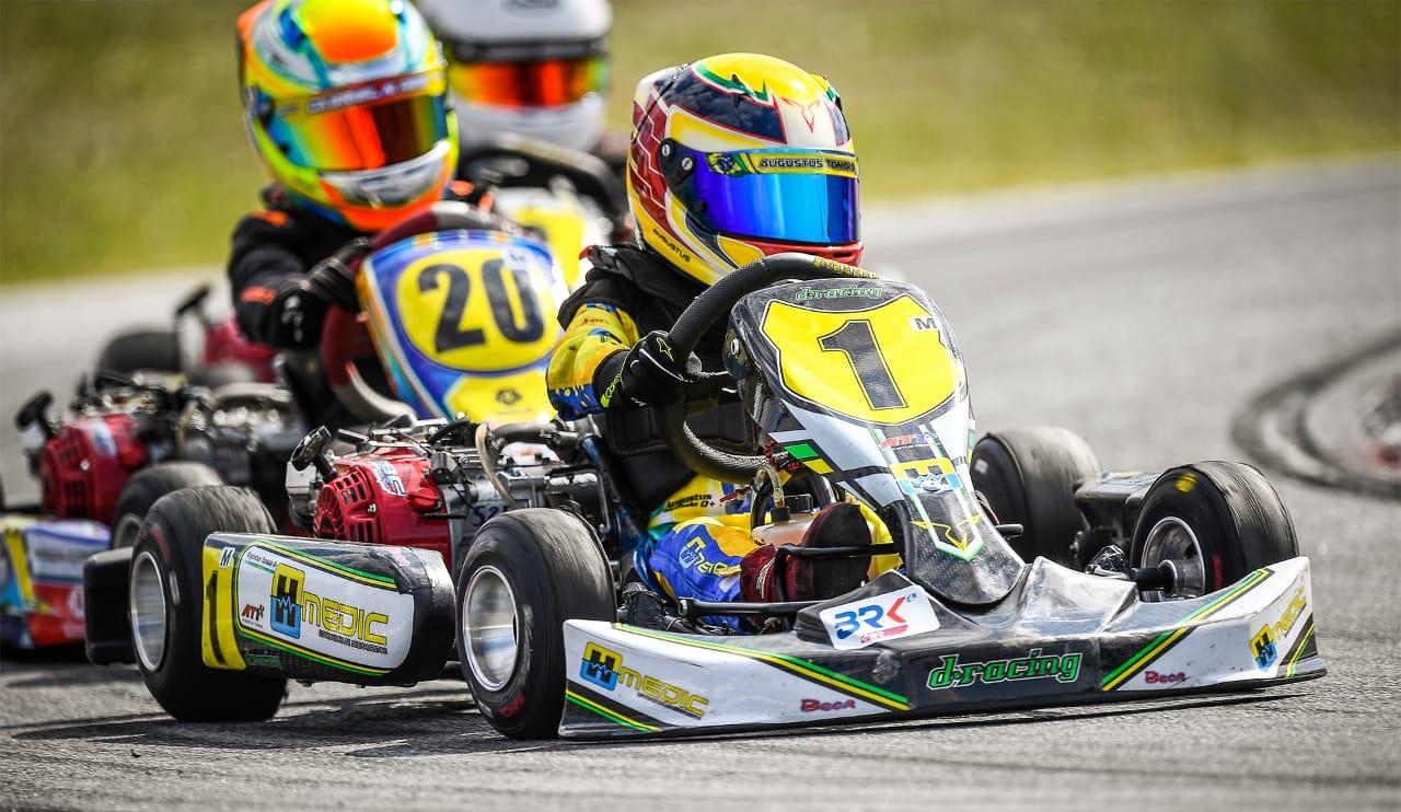 Photo of Kart – Em seu primeiro ano no kart, Augustus Toniolo segue impressionando e conquista pódio na Copa Brasil