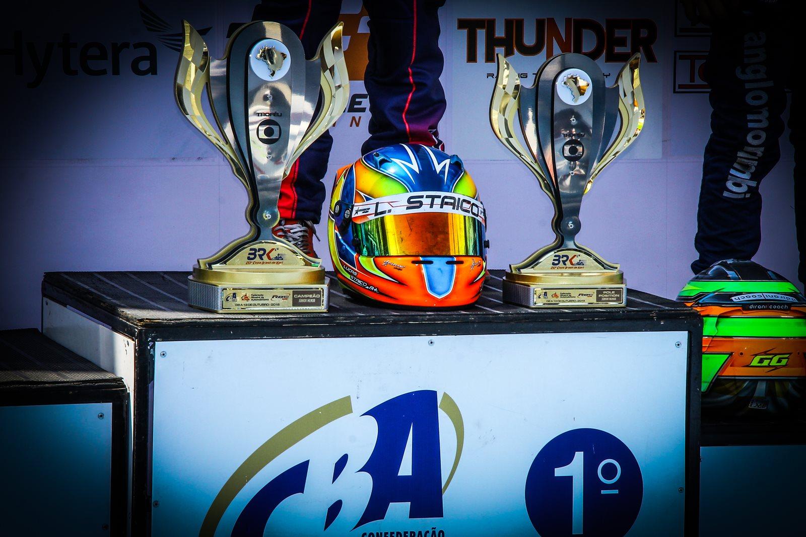 Photo of Kart – Lucas Staico conquistou o Tricampeonato na Copa Brasil de Kart