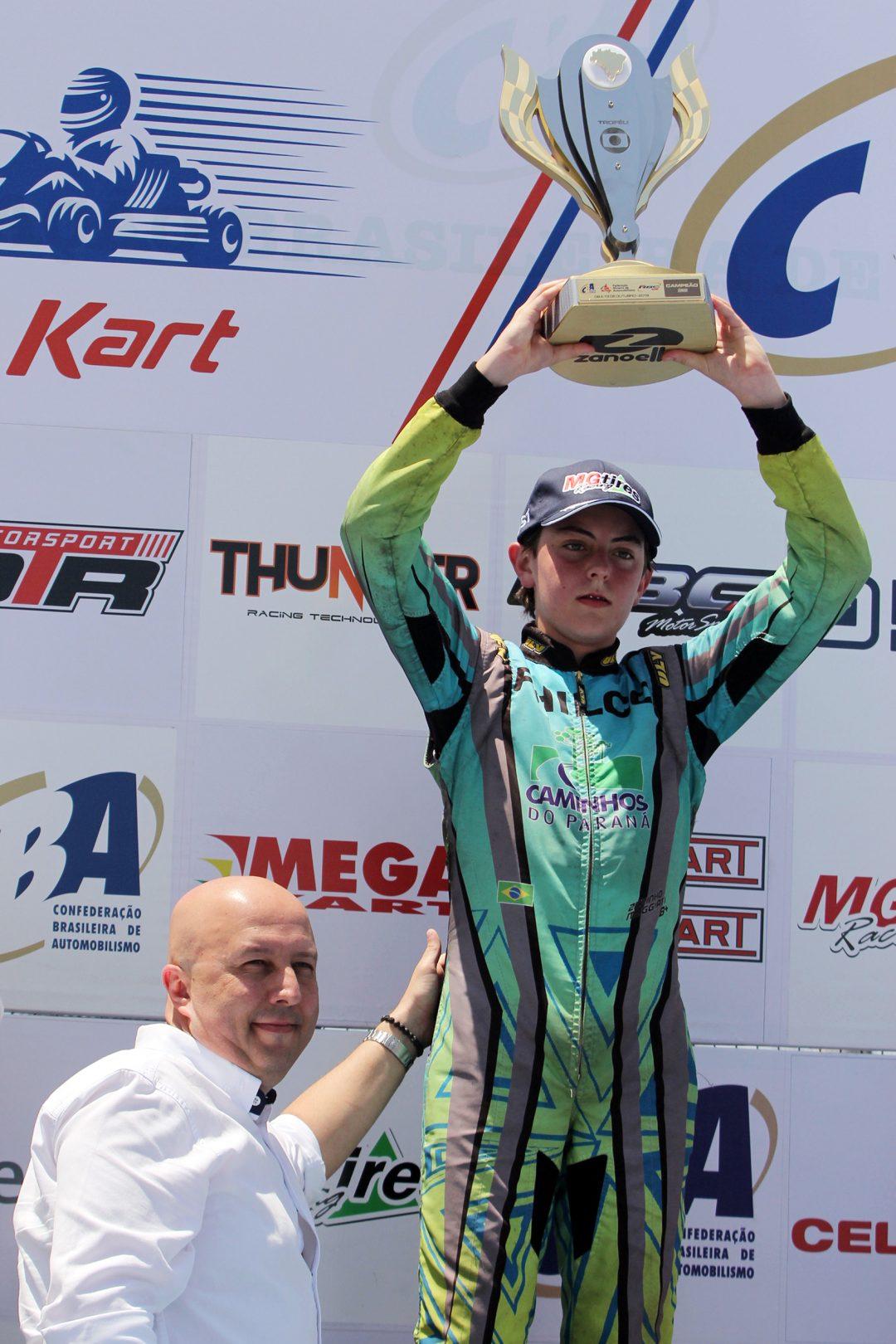 Photo of Kart – José Muggiati Neto venceu três baterias e conquistou de forma invicta o bi na Copa Brasil de Kart