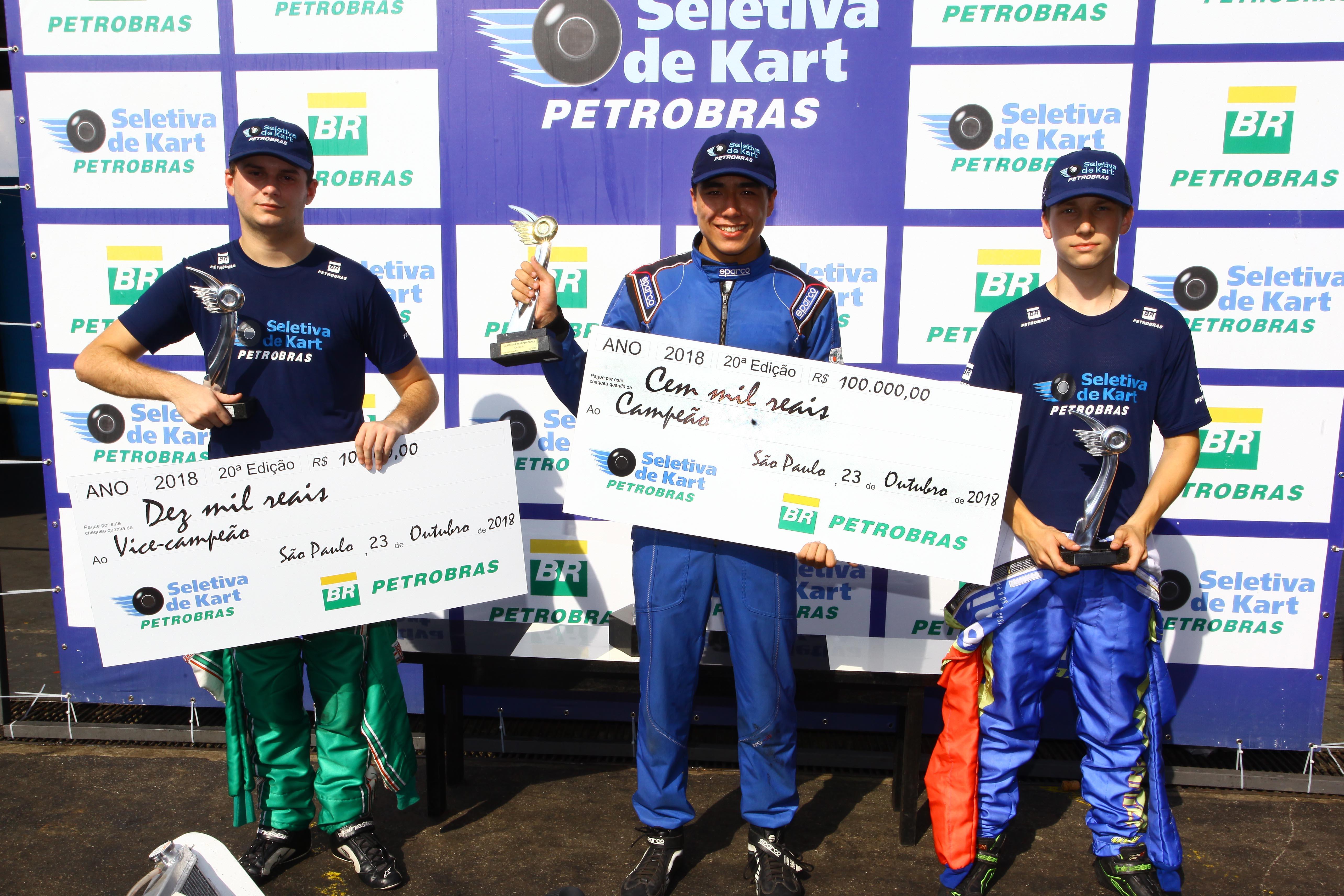 Photo of Kart – Campeão e vice da Seletiva de Kart Petrobras 2018 farão teste de Fórmula 4 com a equipe Carlin