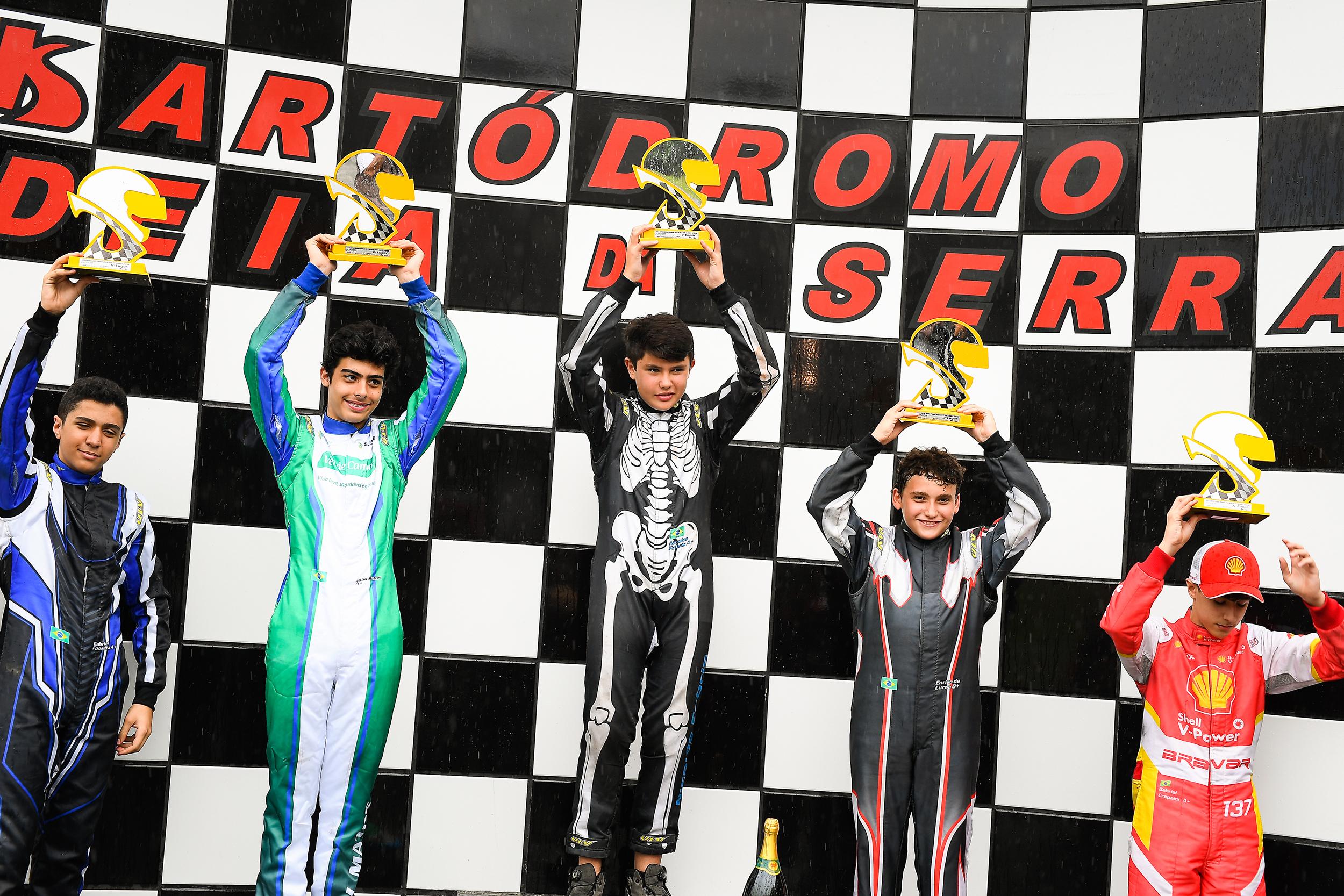 Photo of Kart – Nicolas Fabris venceu na Copa São Paulo Light e entra em definitivo na briga pelo título na Júnior