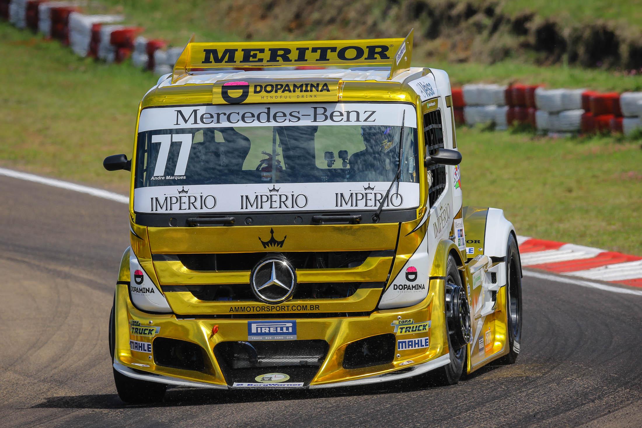 Photo of Truck –  André Marques tem receita simples para ser campeão