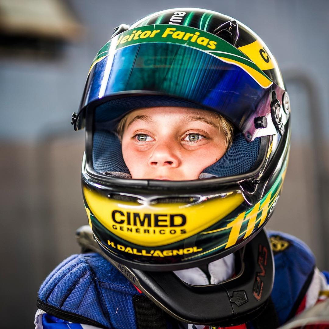 Photo of Kart – Jovem talento do time Cimed Racing, Heitor Farias é campeão da Copa São Paulo de Kart