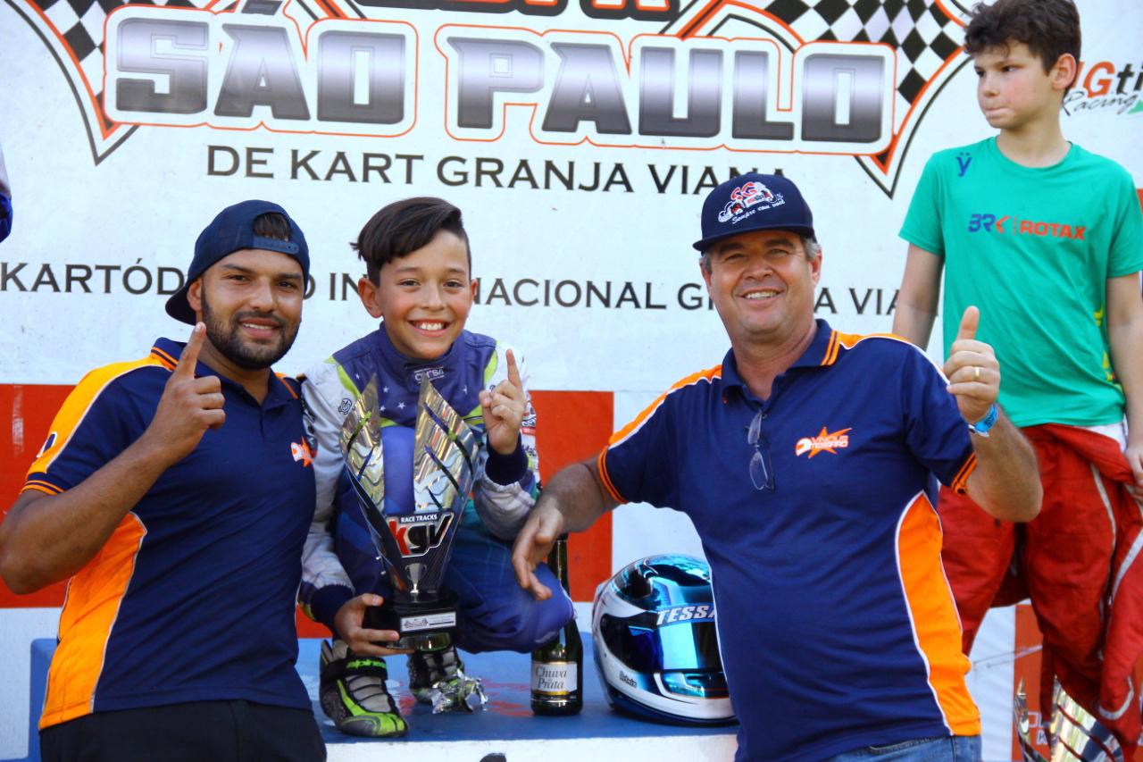 Photo of Kart – Vinícius Tessaro venceu na Copa São Paulo KGV e comemora seu quinto título na atual temporada