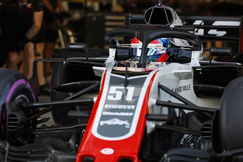 Photo of F1 – Pietro Fittipaldi impressiona em seu primeiro teste com um F1 pela equipe Haas