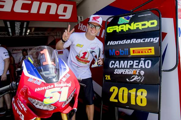 Photo of Superbike Brasil – Bicampeão com 87 pontos de vantagem, Eric Granado chega a Interlagos para fechar a temporada em grande estilo