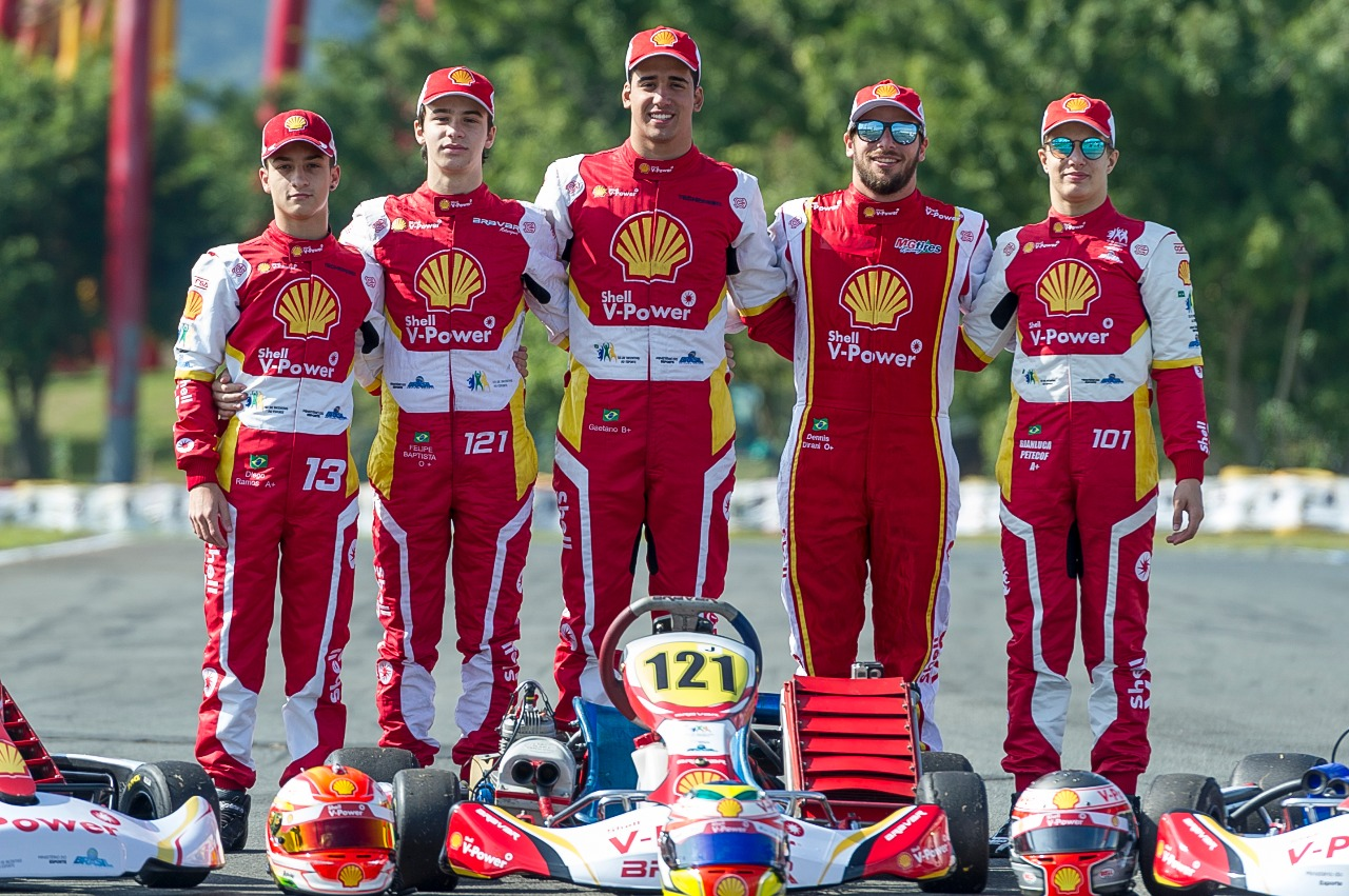 Photo of Kart – Comandada por Christian Fittipaldi, Academia Shell Racing disputa as 500 milhas de kart de olho no título