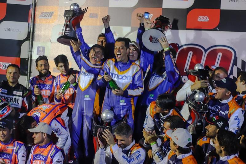 Photo of Kart – Formada por kartistas recordistas, AM Com Racing vence 500 Milhas de Kart
