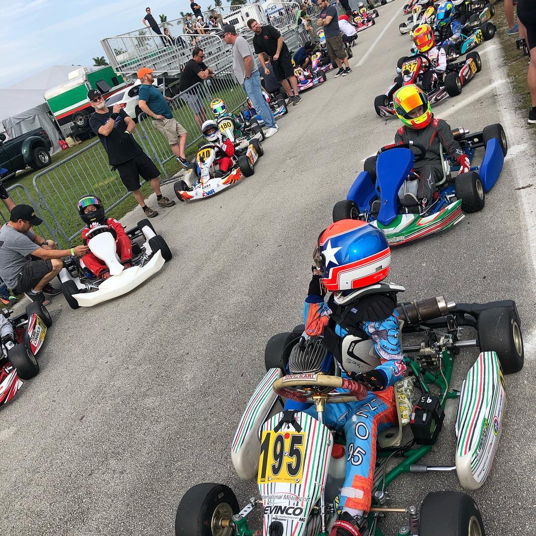 Photo of Kart – Campeão brasileiro de kart em 2018, Enzo Vidmontiene conquista primeiro pódio nos EUA
