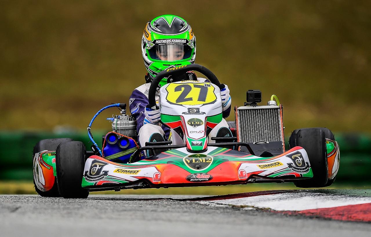 Photo of Kart – Após ano repleto de conquistas no Brasil, Matheus Ferreira inicia carreira na Europa no WSK