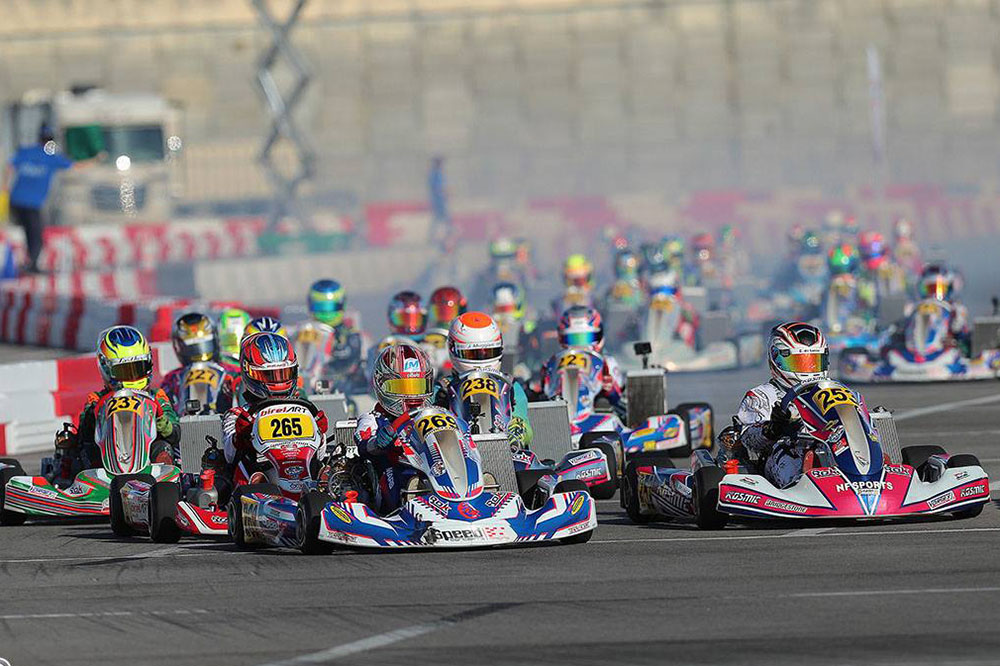Photo of Kart – NF Sports teve boa atuação na primeira do Florida Winter Tour