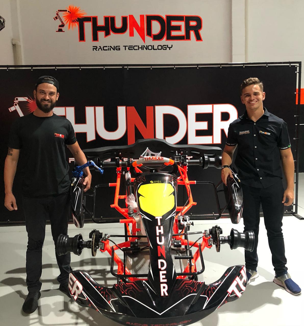 Photo of Kart – Fábrica de chassis Thunder anuncia Alain Sisdeli como seu piloto oficial