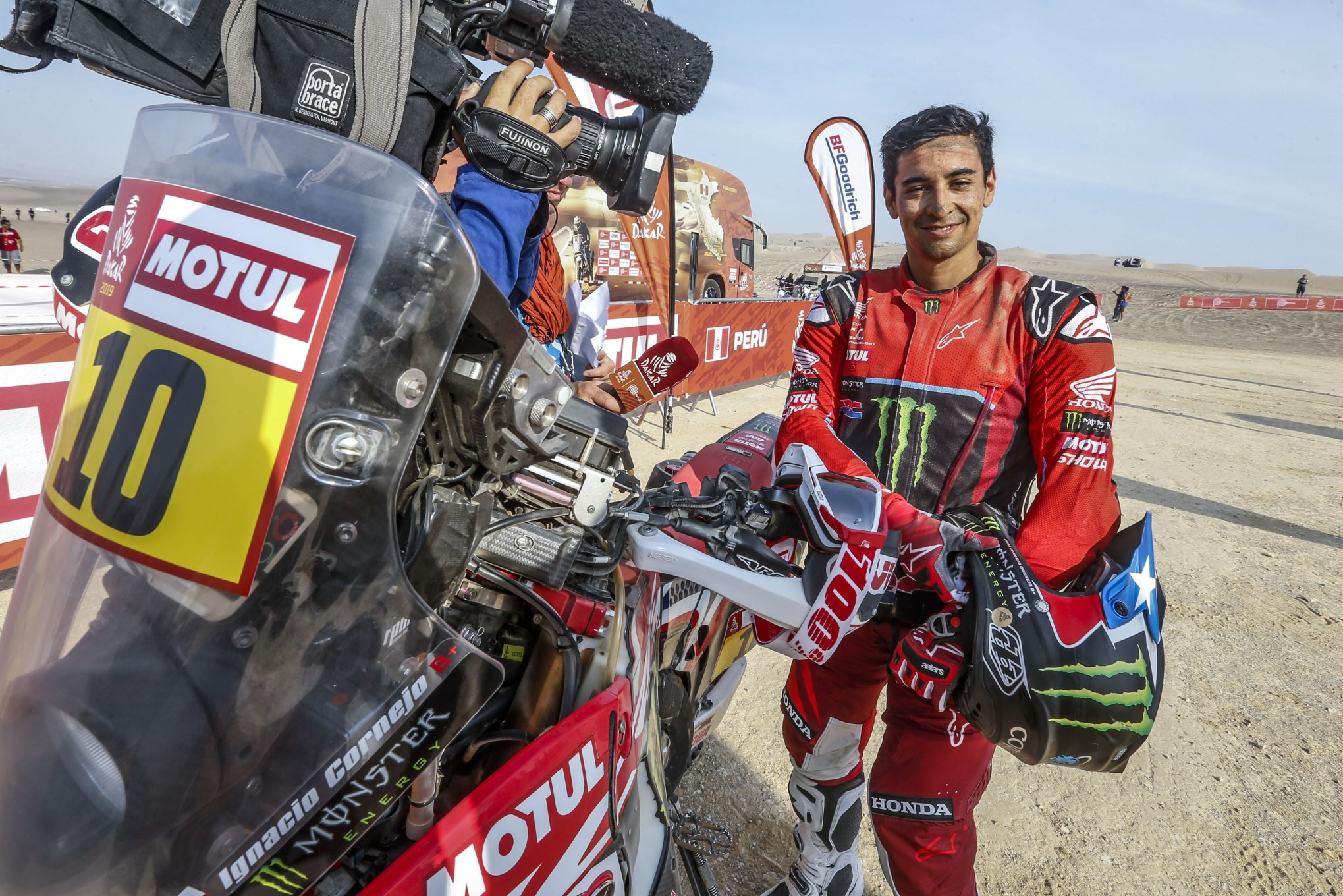 Photo of RALLY – MONSTER ENERGY HONDA TEAM CONCLUI O RALLY DAKAR 2019