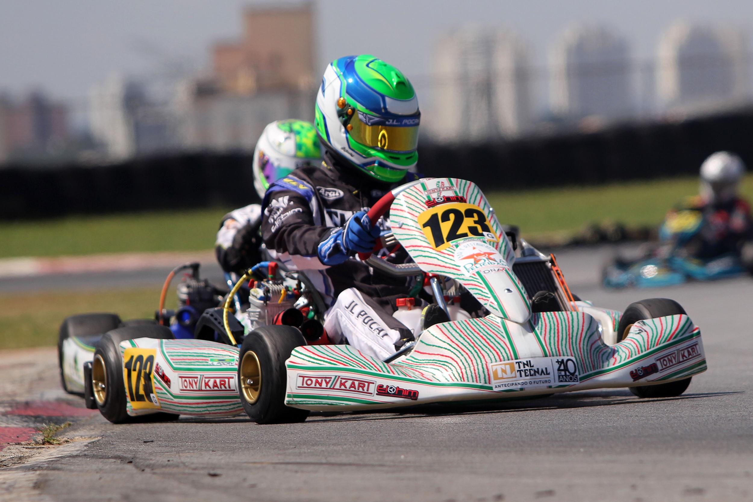 Photo of Kart – João Luís Pocay comemora a conquista de duplo pódio em sua estreia na categoria Graduados