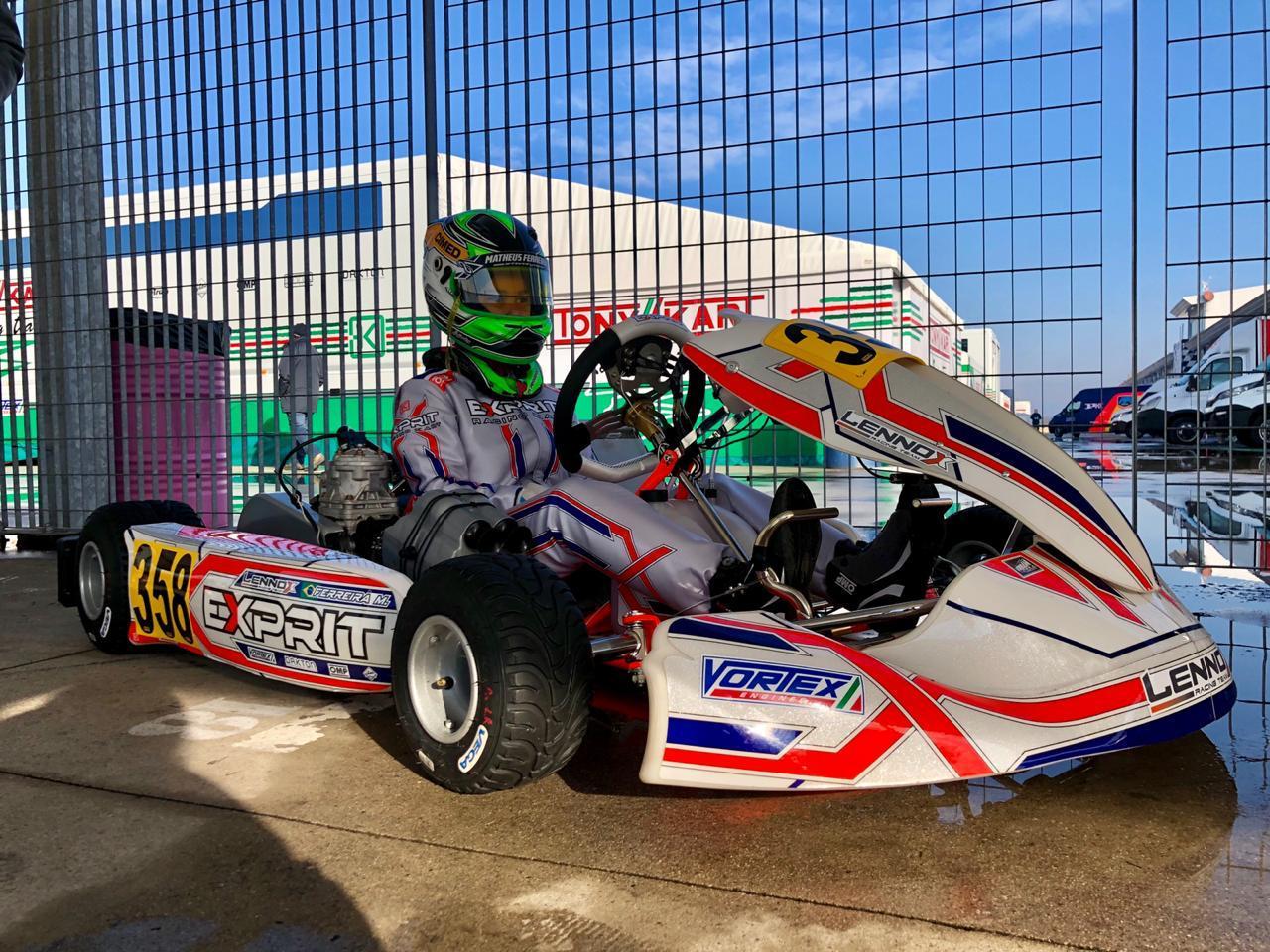 Photo of Kart – Matheus Ferreira é destaque em estreia na categoria OK Júnior do WSK na Itália