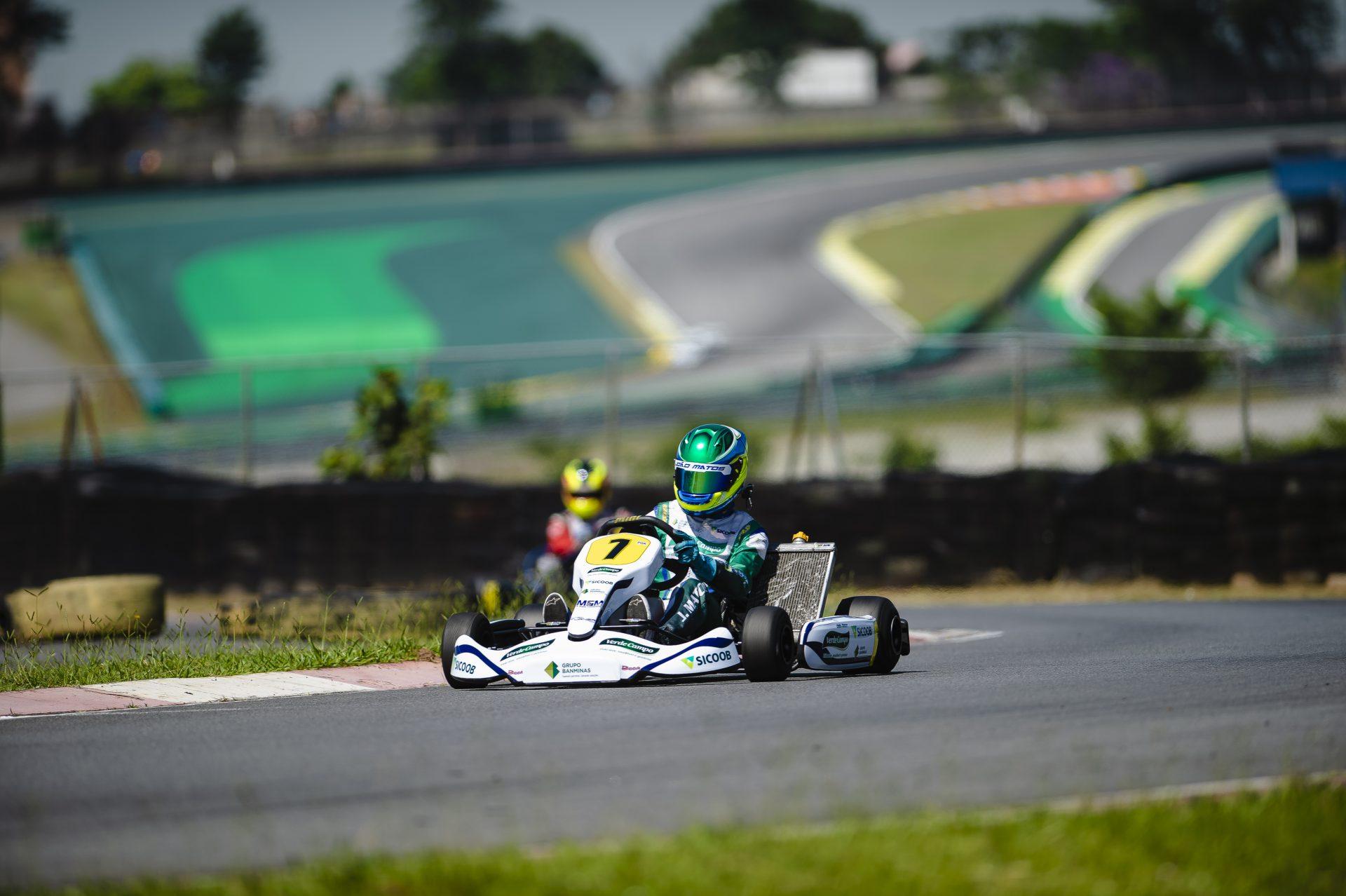 Photo of Kart – João Matos fez sua estreia na categoria Graduado