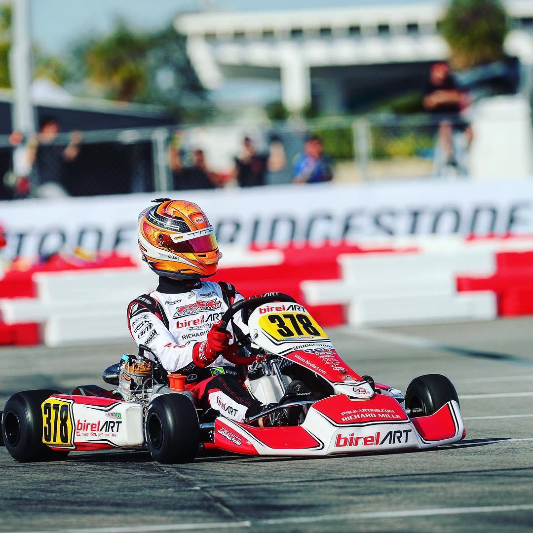 Photo of Kart – De contrato renovado na F4 Americana, Arthur Leist volta ao kart para a 2ª etapa do SKUSA