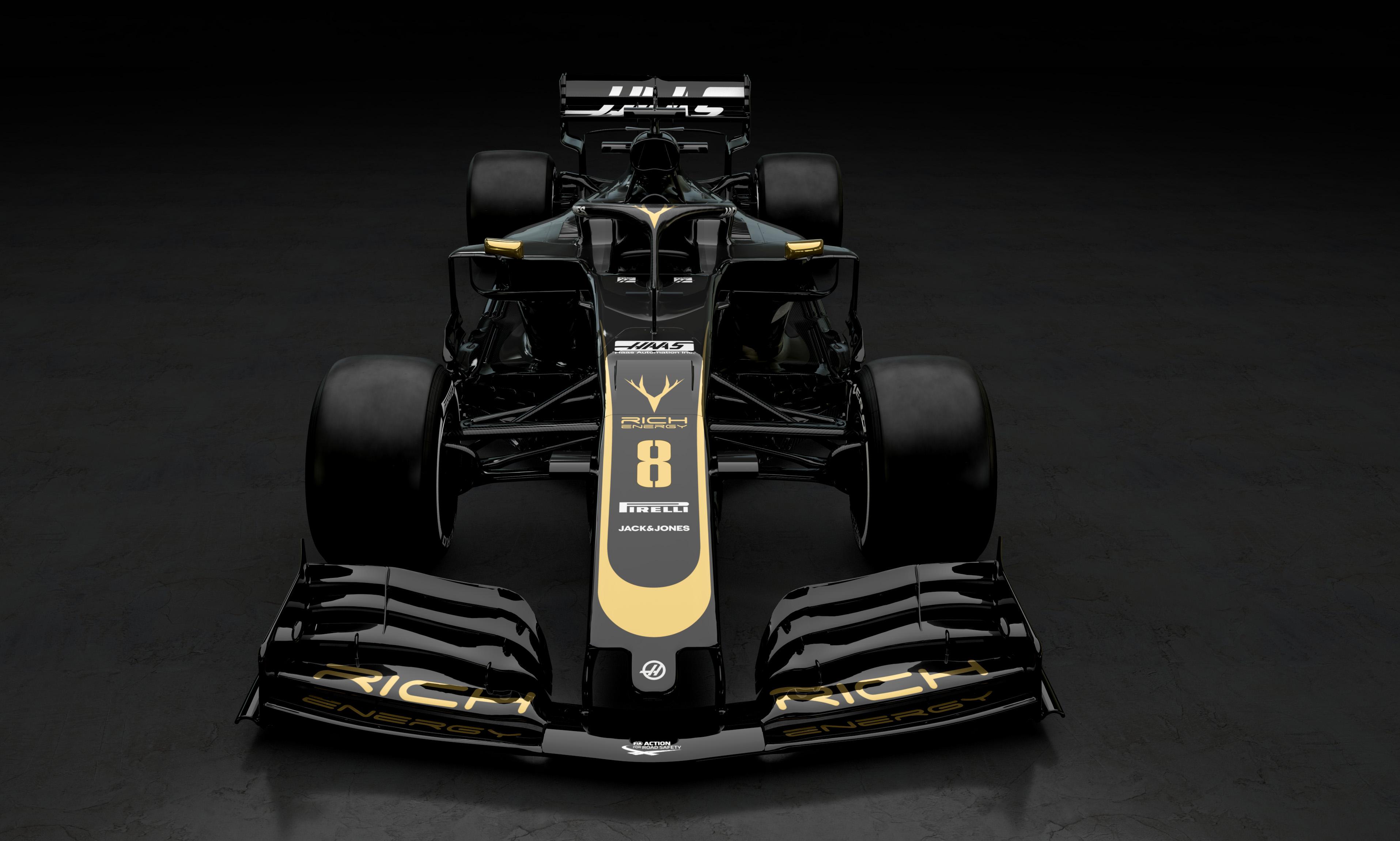 Photo of F1 – Com Pietro Fittipaldi, Rich Energy Haas F1 Team revela cores do carro para a temporada 2019 da F1
