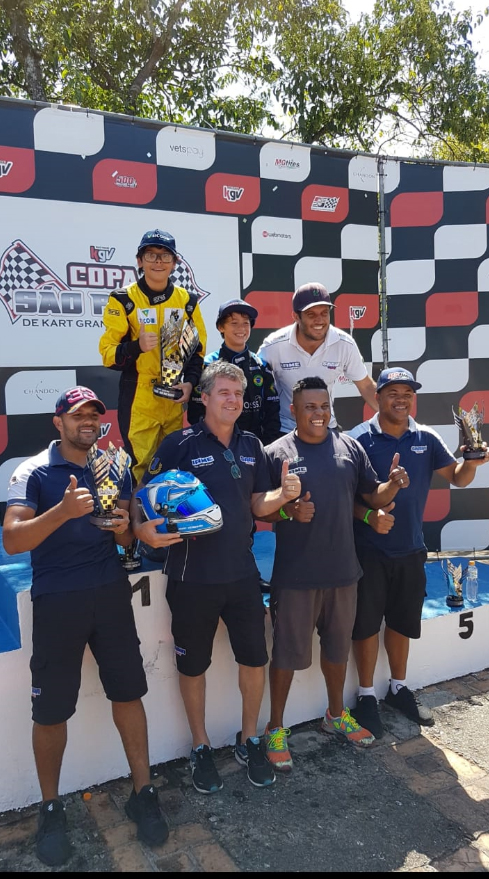 Photo of Kart – Luigi Di Lazzaro lidera a Copa São Paulo KGV após sua estreia em nova equipe e em nova categoria