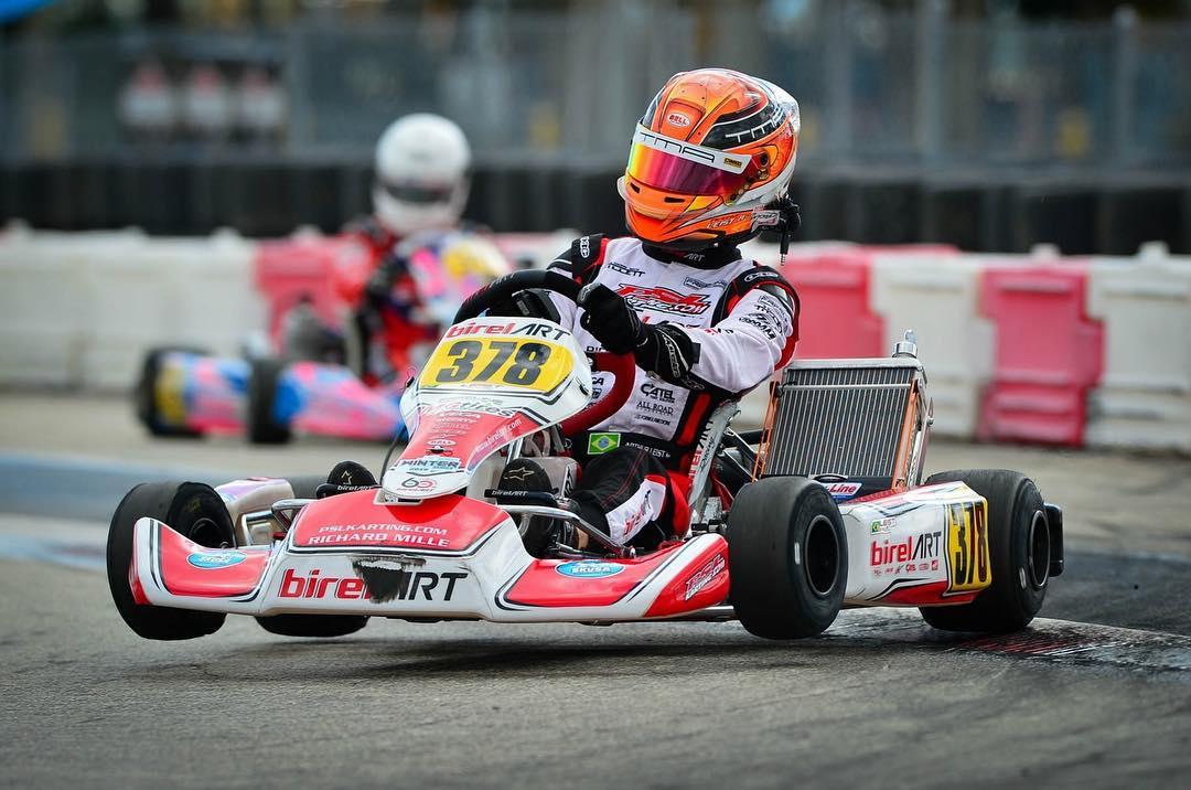 Photo of Kart – Arthur Leist bate recorde da pista no SKUSA, vence Pré-Final e busca vitória no Florida Winter Tour