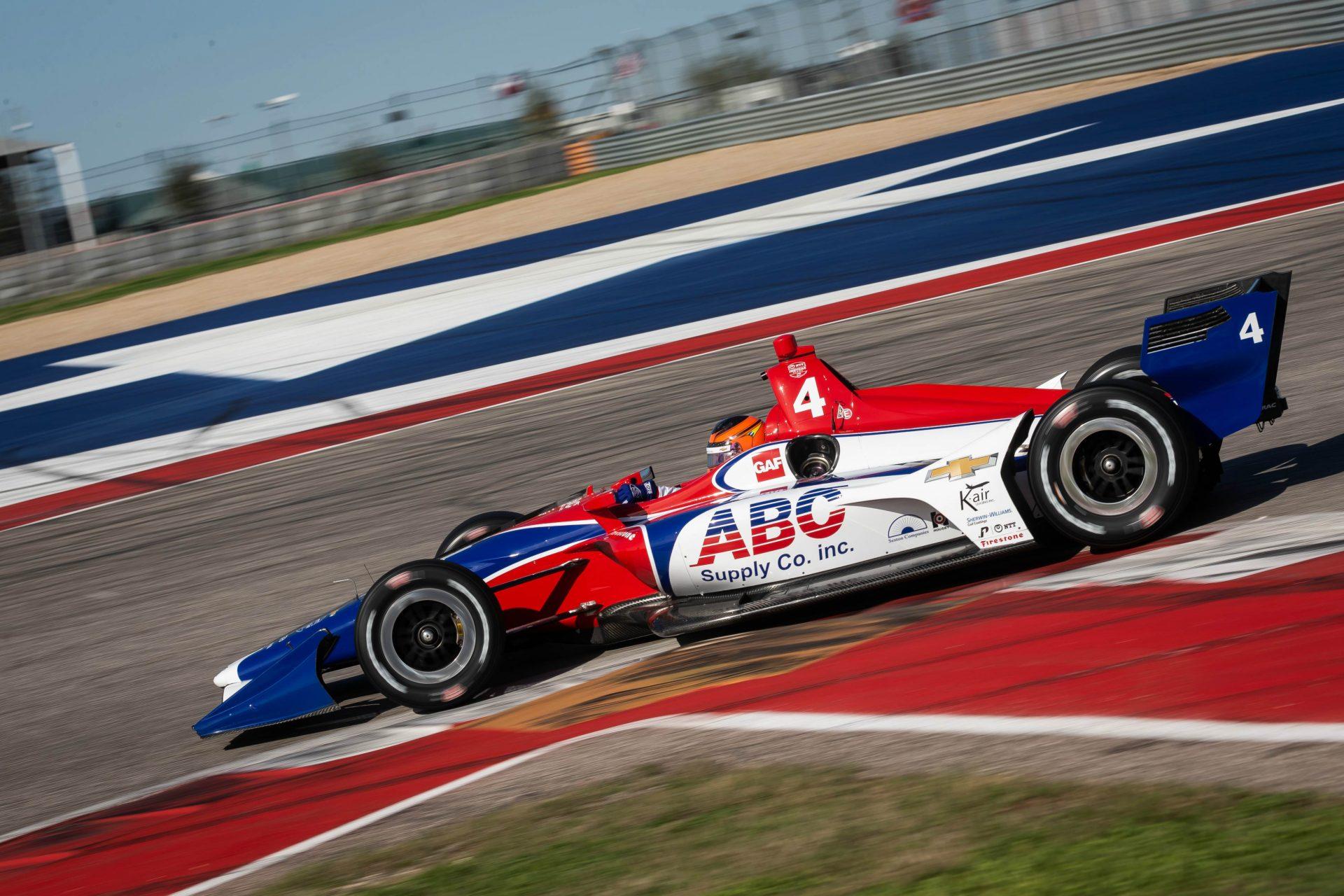 Photo of Indy Car – Matheus Leist aprova primeira experiência no Circuito das Américas em teste da Indy