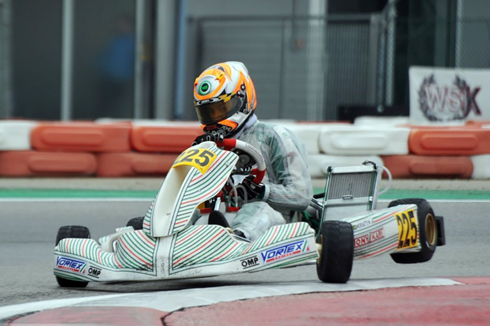 Photo of Kart – Matheus Morgatto está em Lonato para a Winter Cup