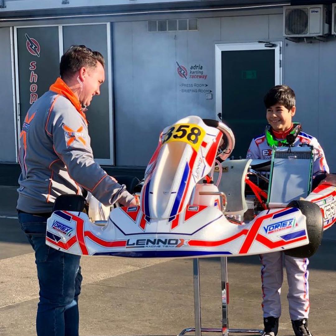 Photo of Kart – Matheus Ferreira brilha no WSK em La Conca com mais uma etapa recheada de ultrapassagens