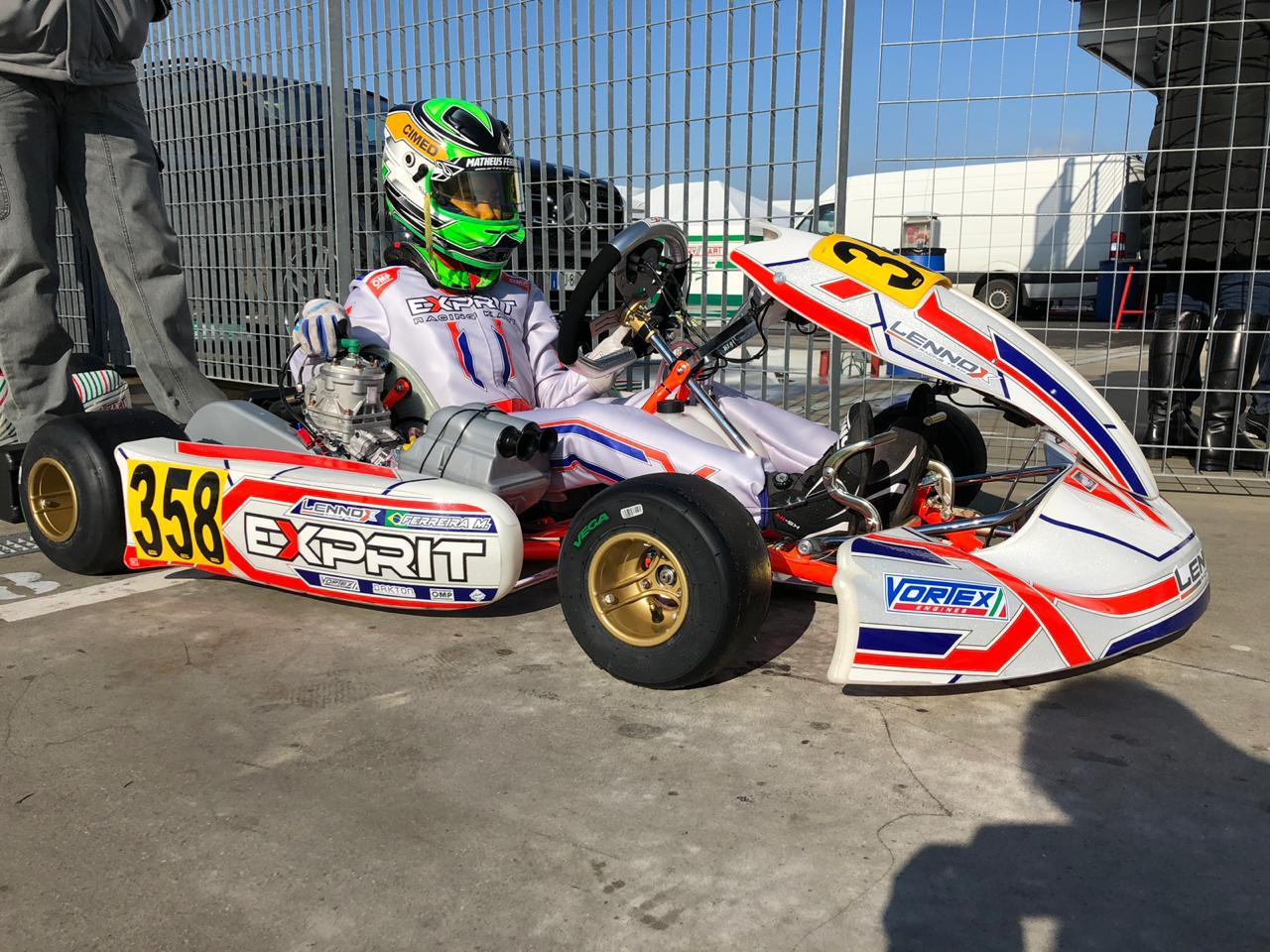 Photo of Kart – Matheus Ferreira disputa 2ª etapa do WSK entre mais de 340 pilotos na Itália