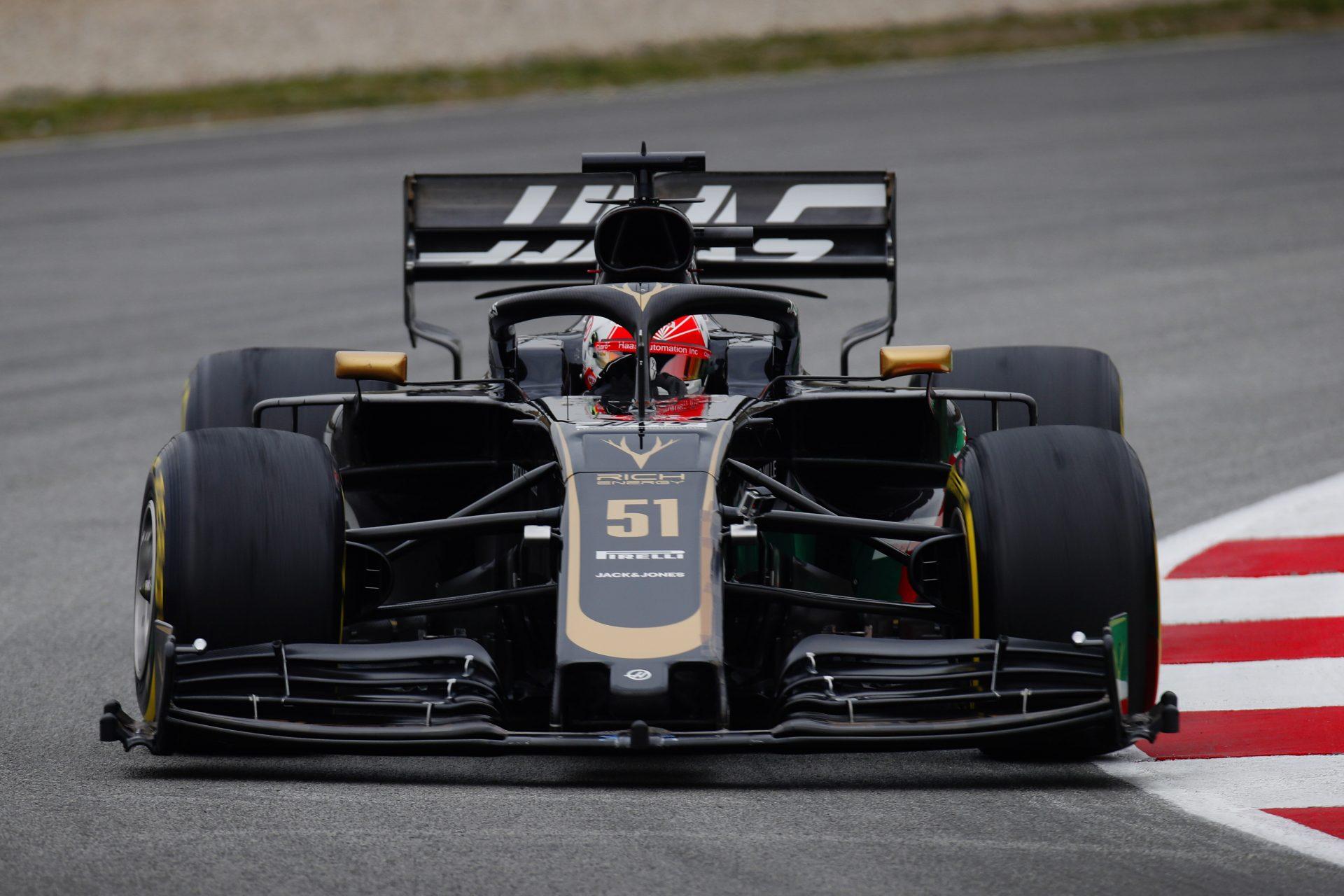 Photo of F1 – Pietro Fittipaldi é destaque na pré-temporada da F1 em segundo dia de testes com a Haas em Barcelona