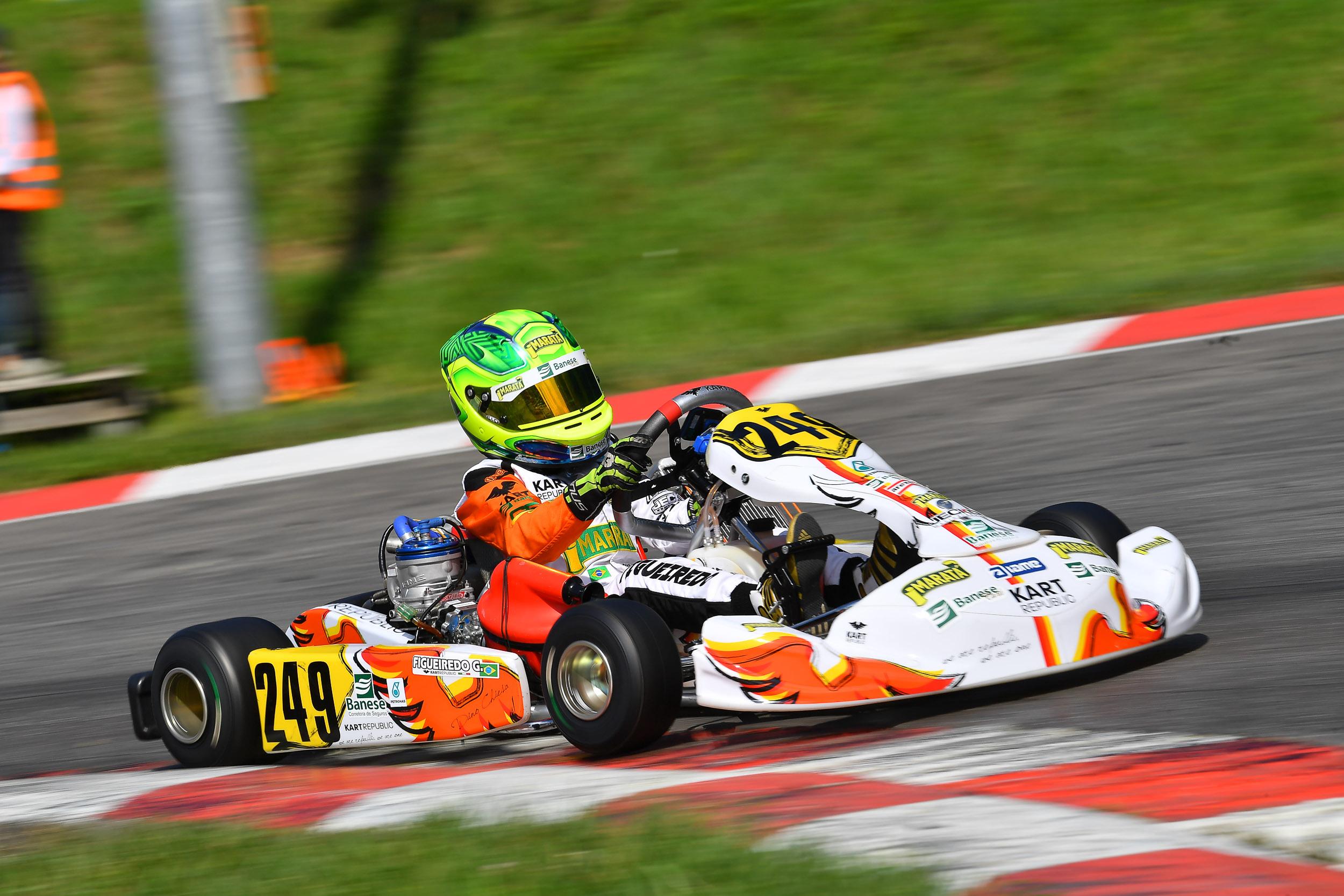Photo of Kart – Na Europa, Gui Figueiredo estreia em nova categoria no WSK em Lonato