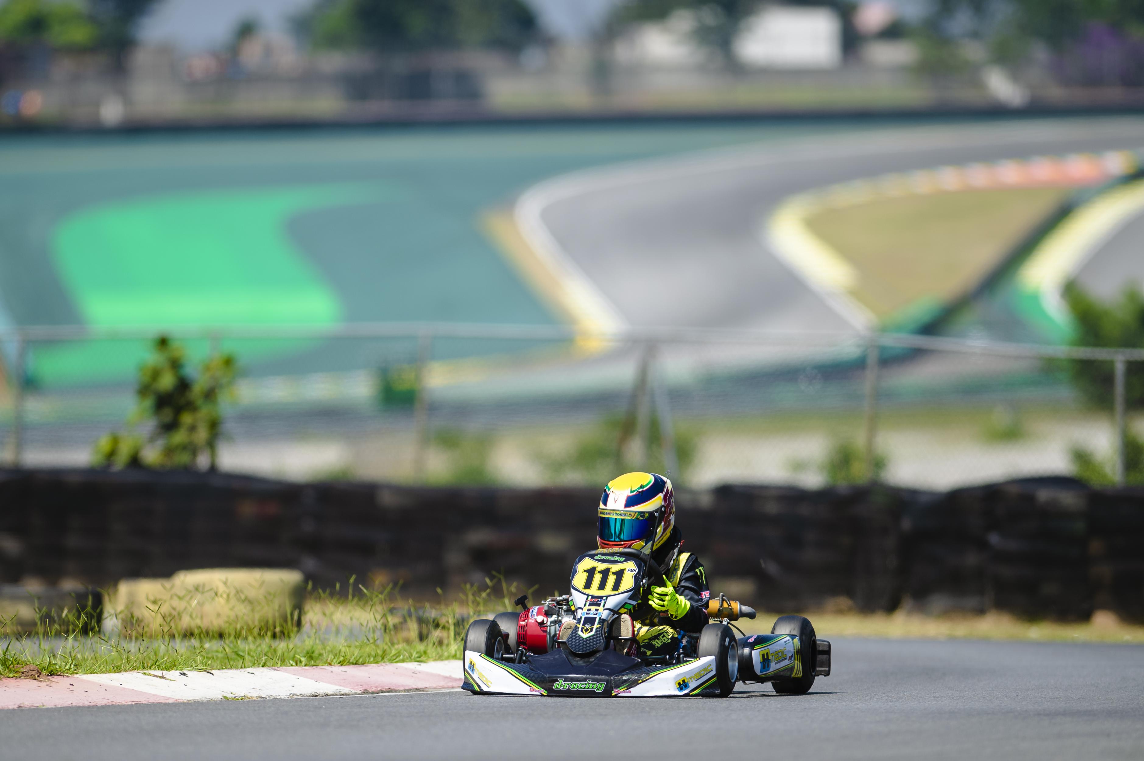Photo of Kart – Aos 8 anos, Augustus Toniolo estreia com pole e duas vitórias na Copa Interlagos de Kart