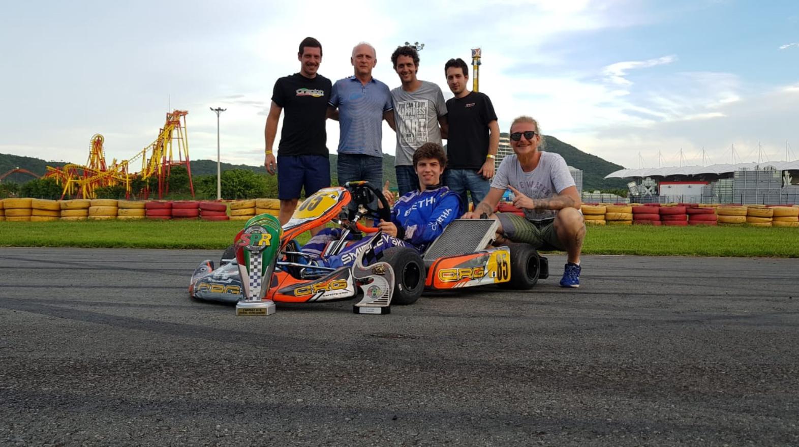 Photo of Kart – Bruno Smielevski venceu na abertura da Copa SPR Light em sua estreia na Graduados