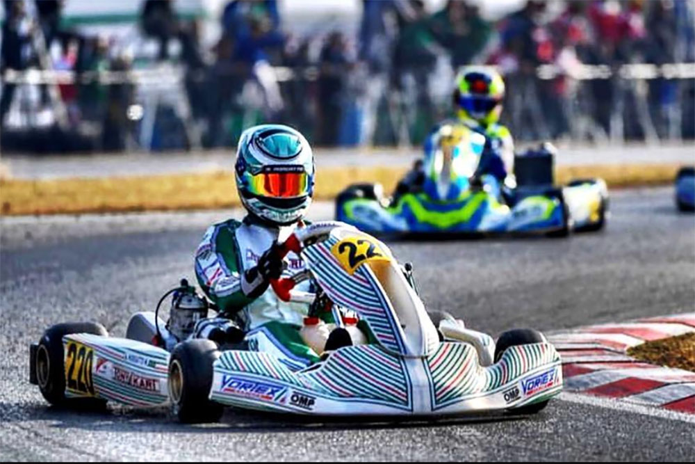Photo of Kart – Incidente tirou Matheus Morgatto da Final na segunda no WSK Super Master Series