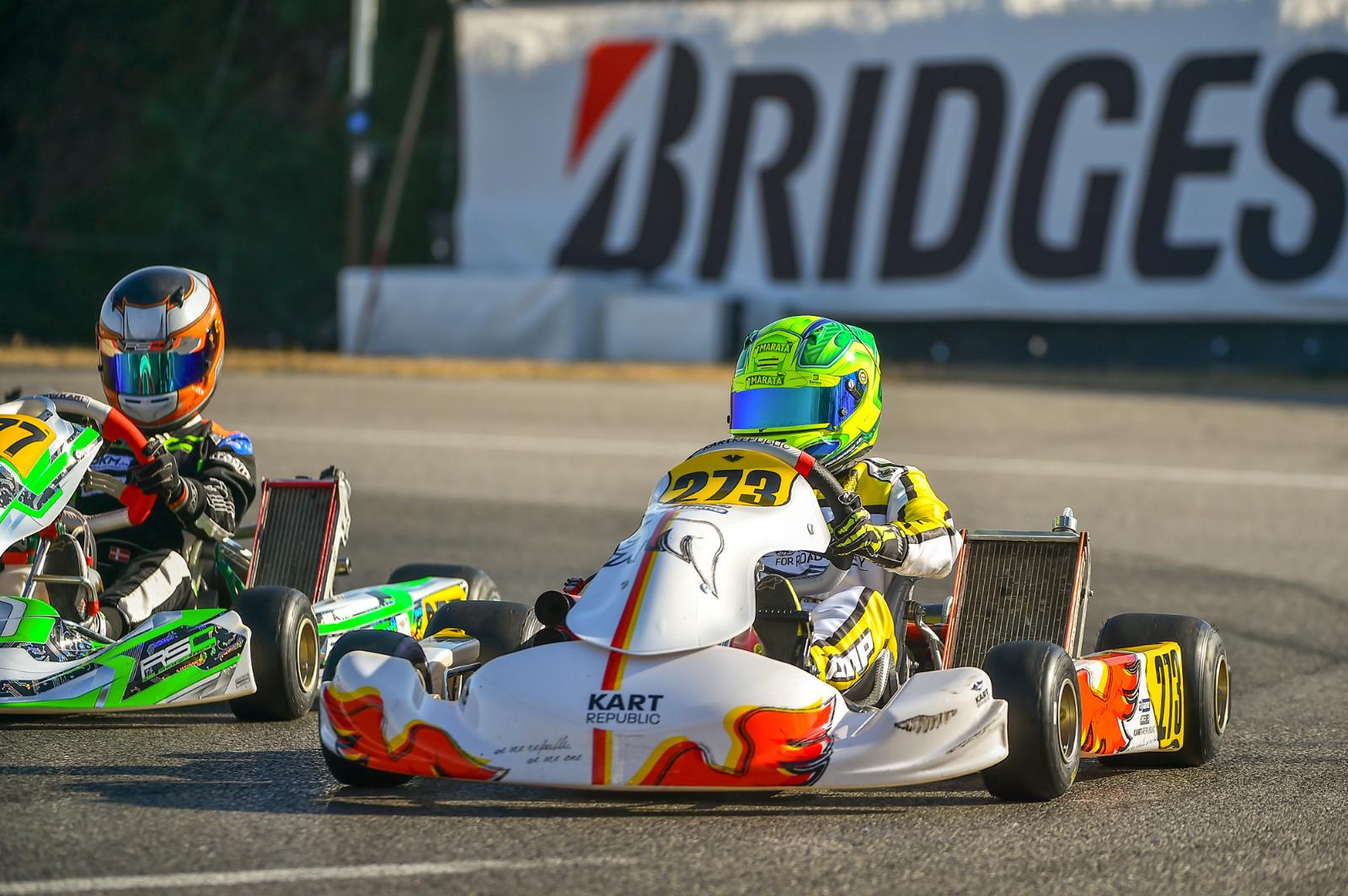 Photo of Kart – Em Lonato, Gui Figueiredo se classifica para a final em estreia na categoria OK