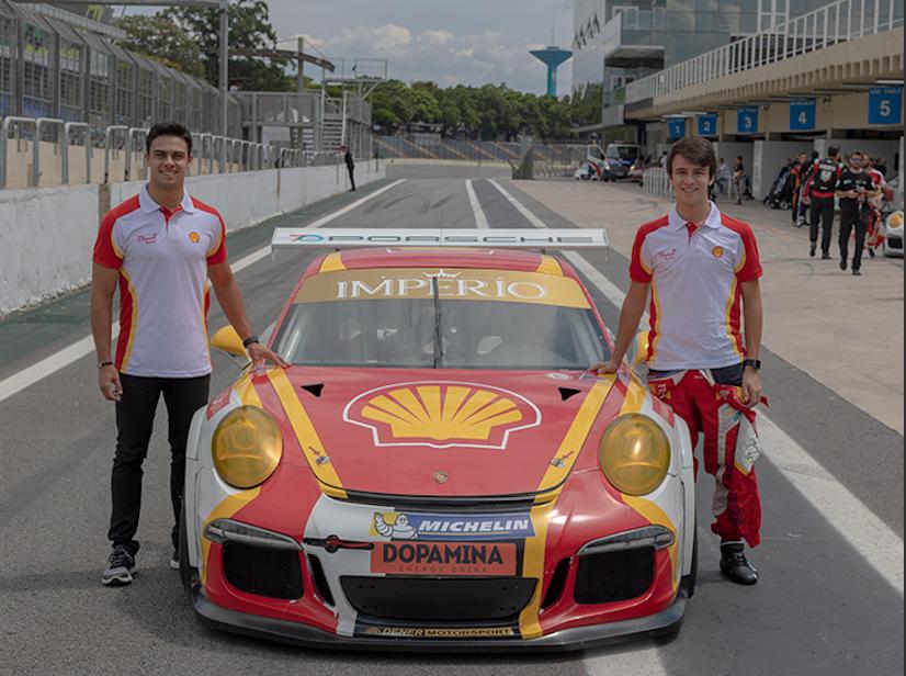 Photo of Porsche Cup – Academia Shell disputa a Porsche Cup com irmãos Vitor e Felipe Baptista em 2019