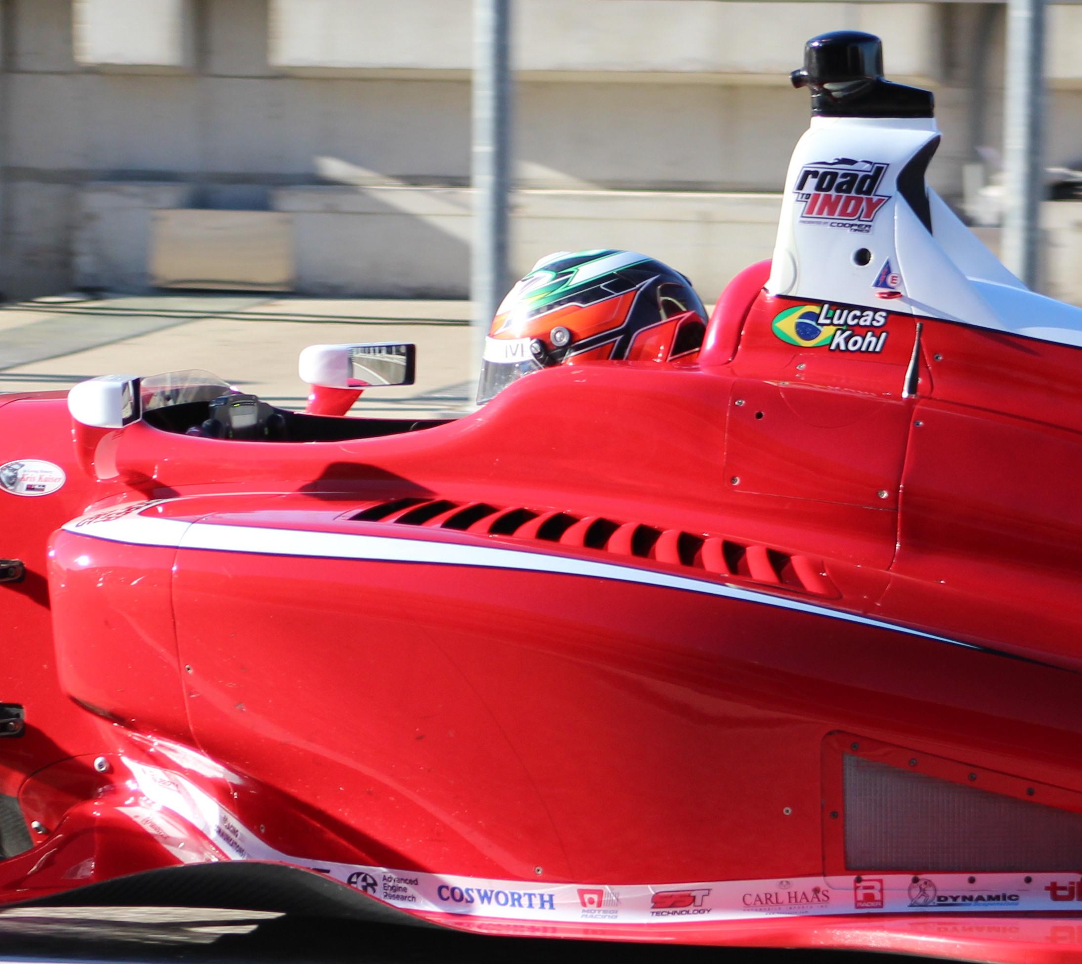 Photo of Indy Ligths –  Lucas Kohl estreia na Indy Lights em pista de rua onde já subiu no pódio: St. Pete